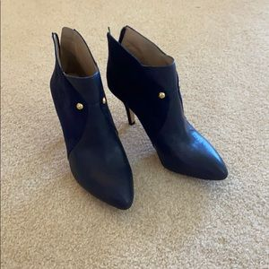 Blue Saks Fifth Avenue boots